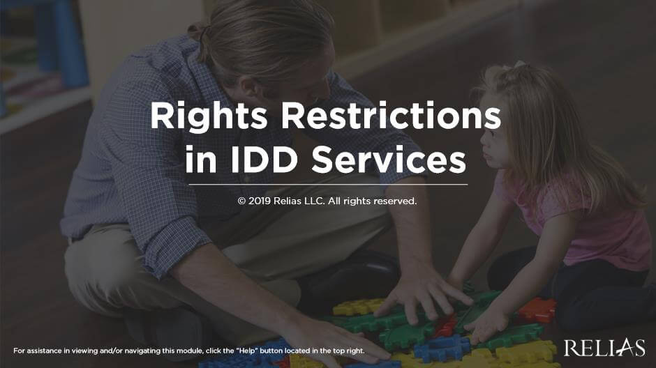 Rights Restrictions in IDD Services