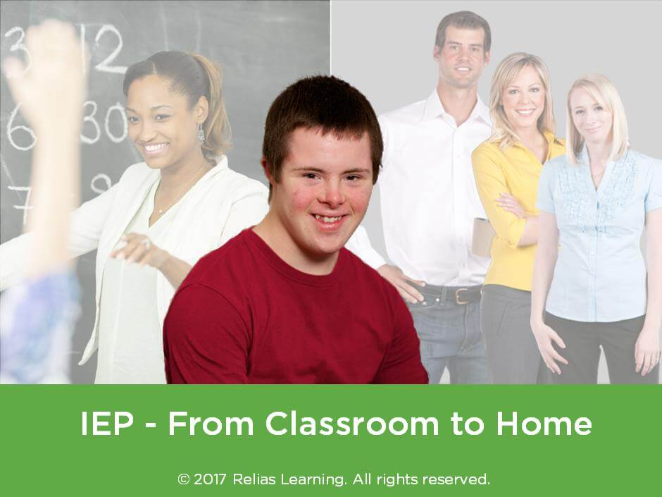 IEP - From Classroom to Home