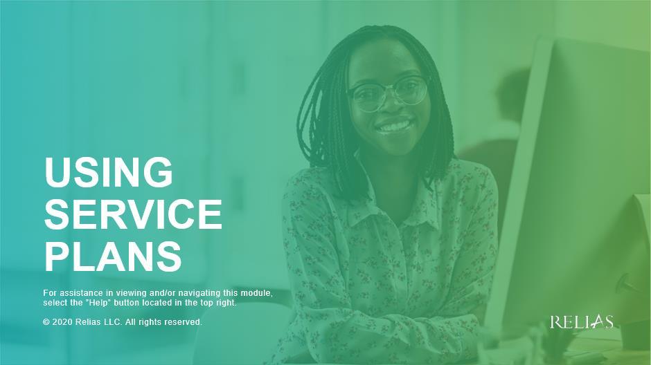 Using Service Plans