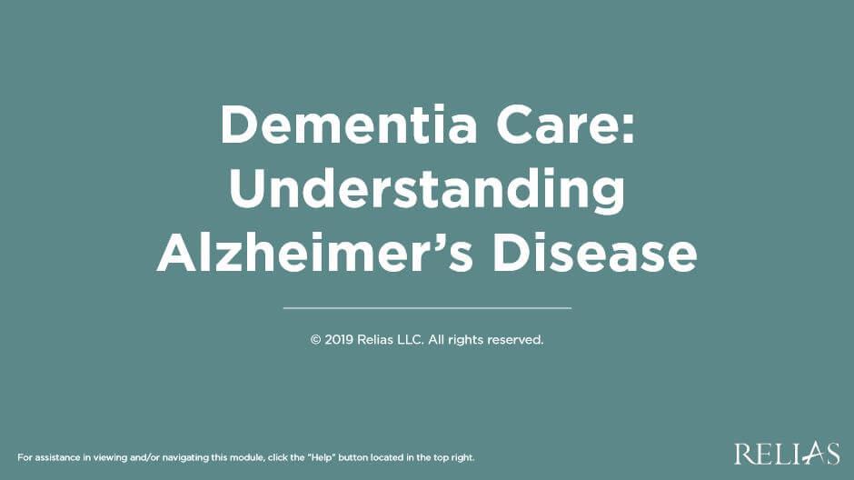 Dementia Care: Understanding Alzheimer's Disease