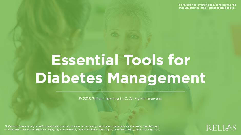Essential Tools for Diabetes Management