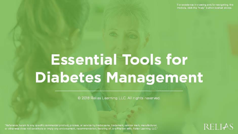 Essential Tools for Diabetes Management
