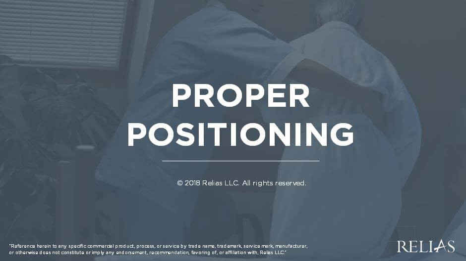 Proper Positioning