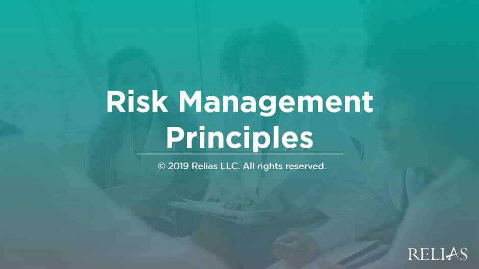Risk Management Principles