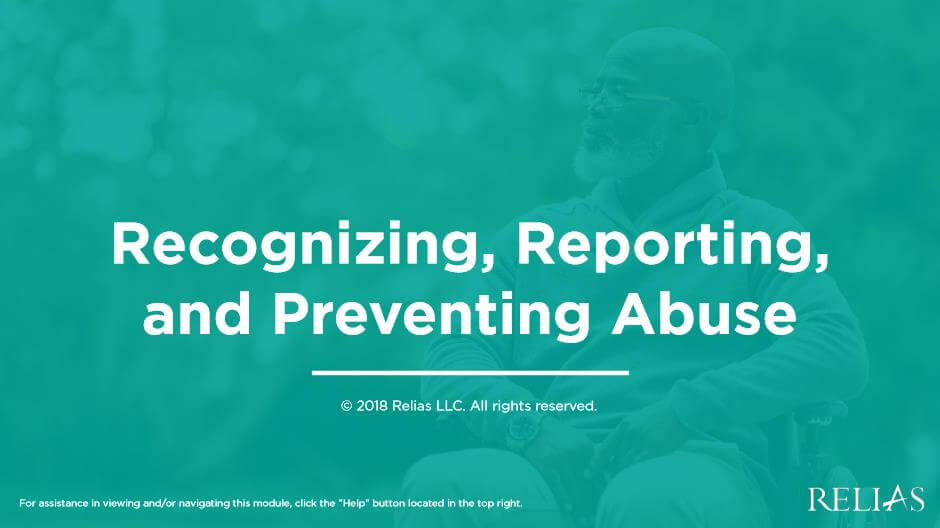 Recognizing, Reporting, and Preventing Abuse