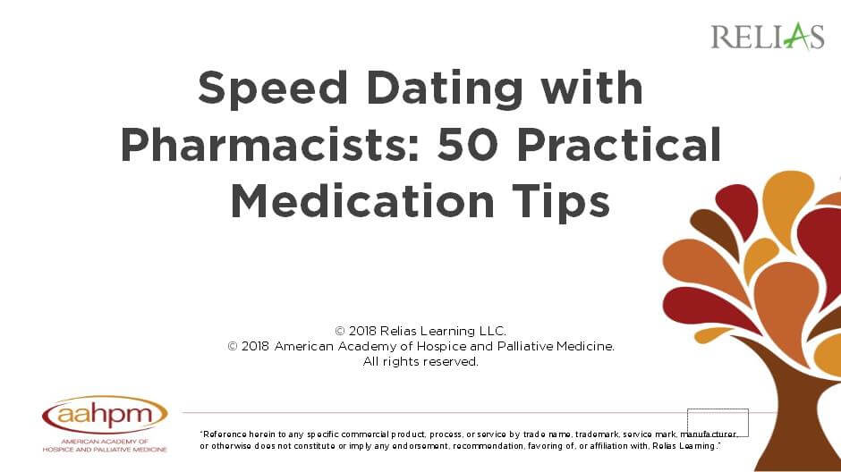 Speed Dating with Pharmacists: 50 Practical Medication Tips