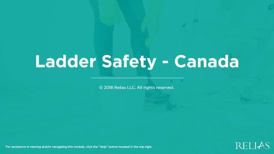 Ladder Safety - Canada