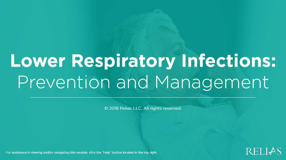 Lower Respiratory Infections:  Prevention and Management - Canada