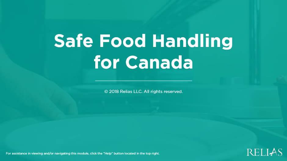 Safe Food Handling for Canada