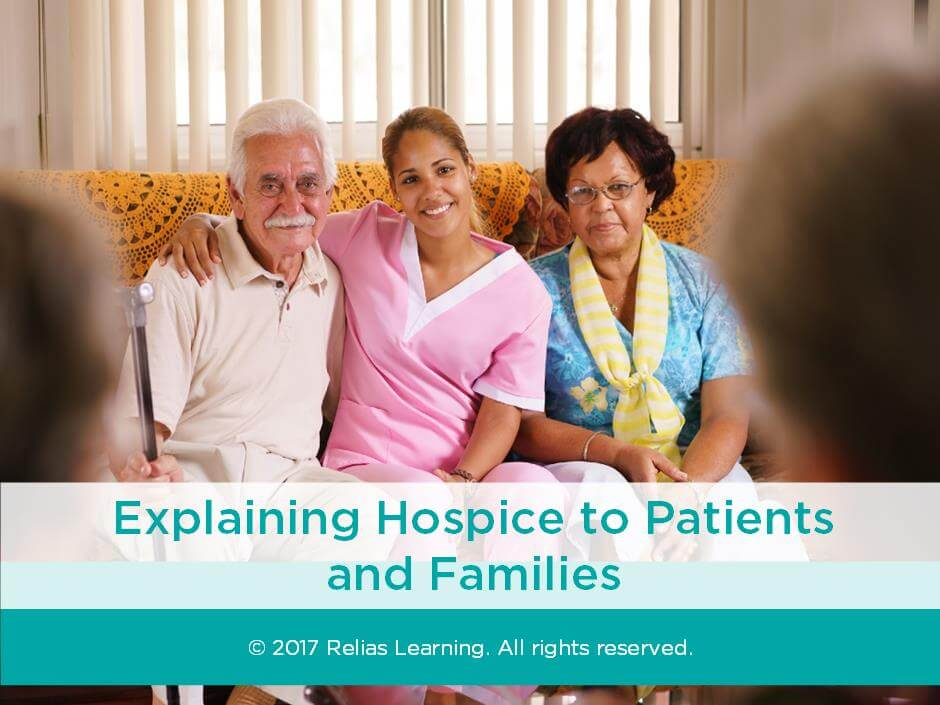 Explaining Hospice to Patients and Families