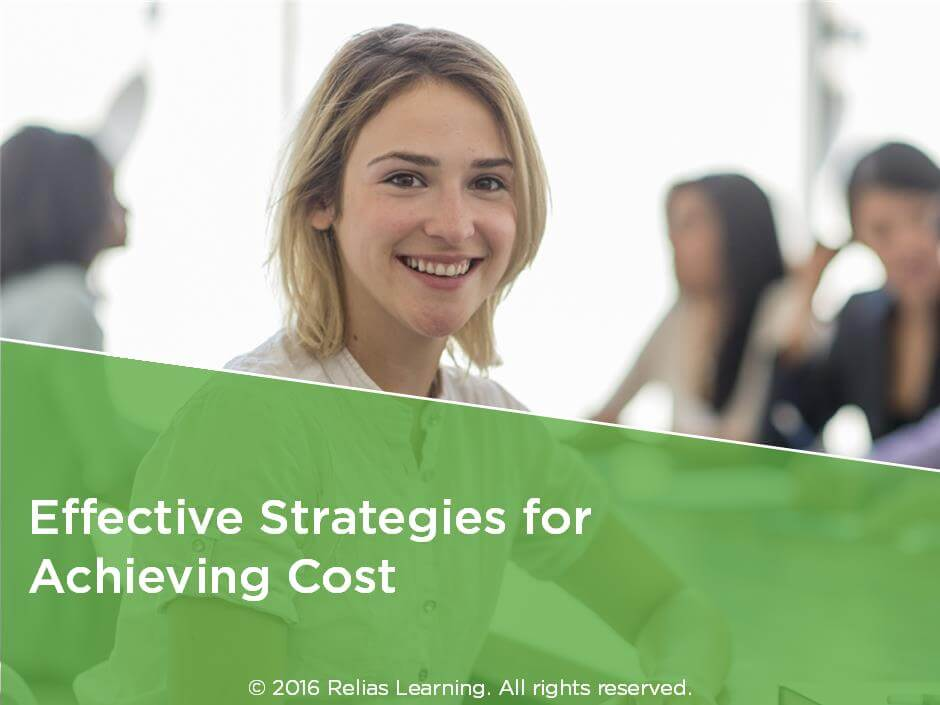 Effective Strategies for Achieving Cost