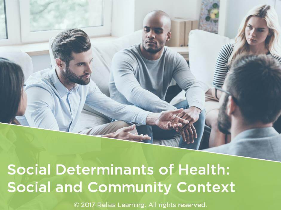 Social Determinants of Health: Social and Community Context