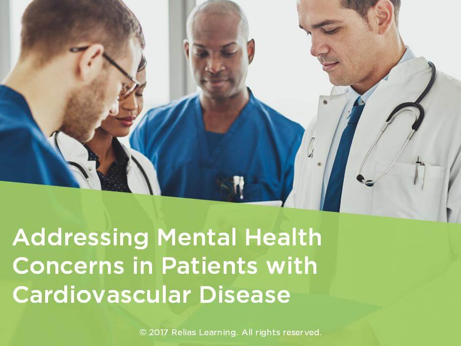 Addressing Mental Health Concerns in Patients with Cardiovascular Disease