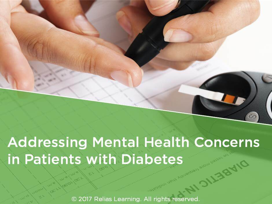 Addressing Mental Health Concerns in Patients with Diabetes