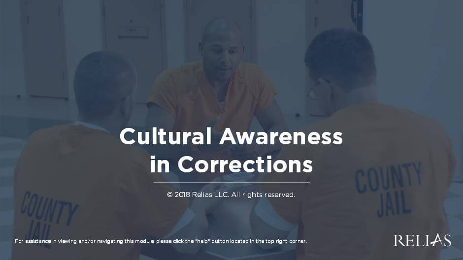 Cultural Awareness in Corrections