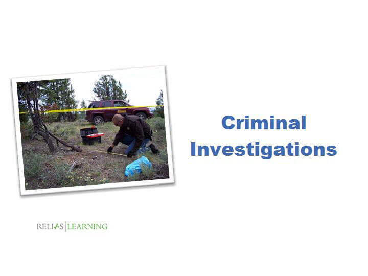 Criminal Investigations 1.0