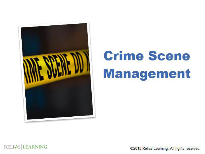 Crime Scene Management 1.0