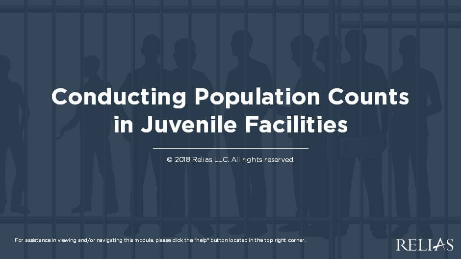 Conducting Population Counts in Juvenile Facilities