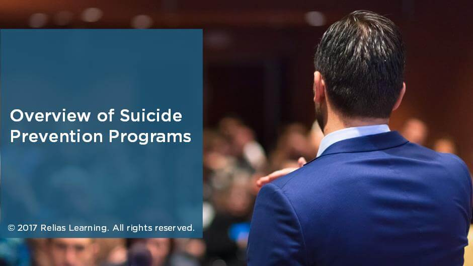 Overview of Suicide Prevention Programs