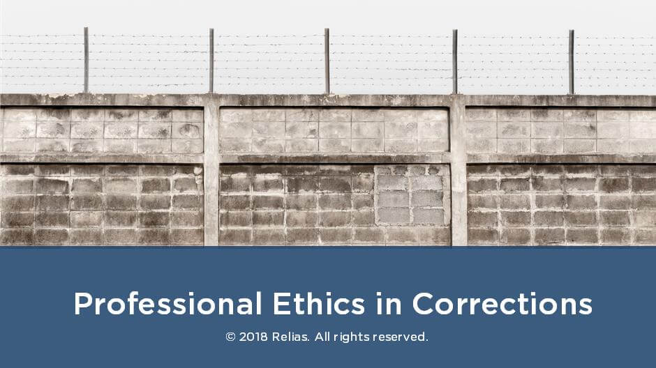 corrections ethics powerpoint