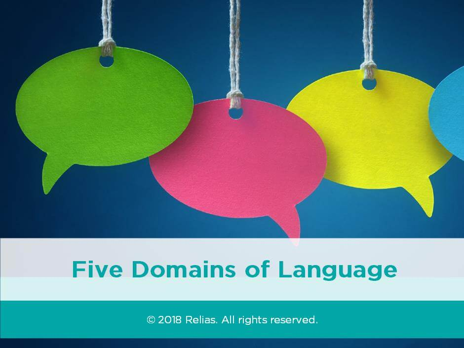 Five Domains of Language