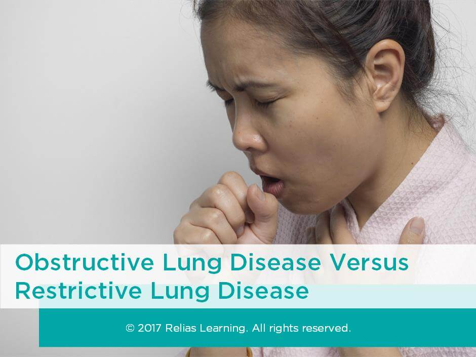 Obstructive Lung Disease Versus Restrictive Lung Disease