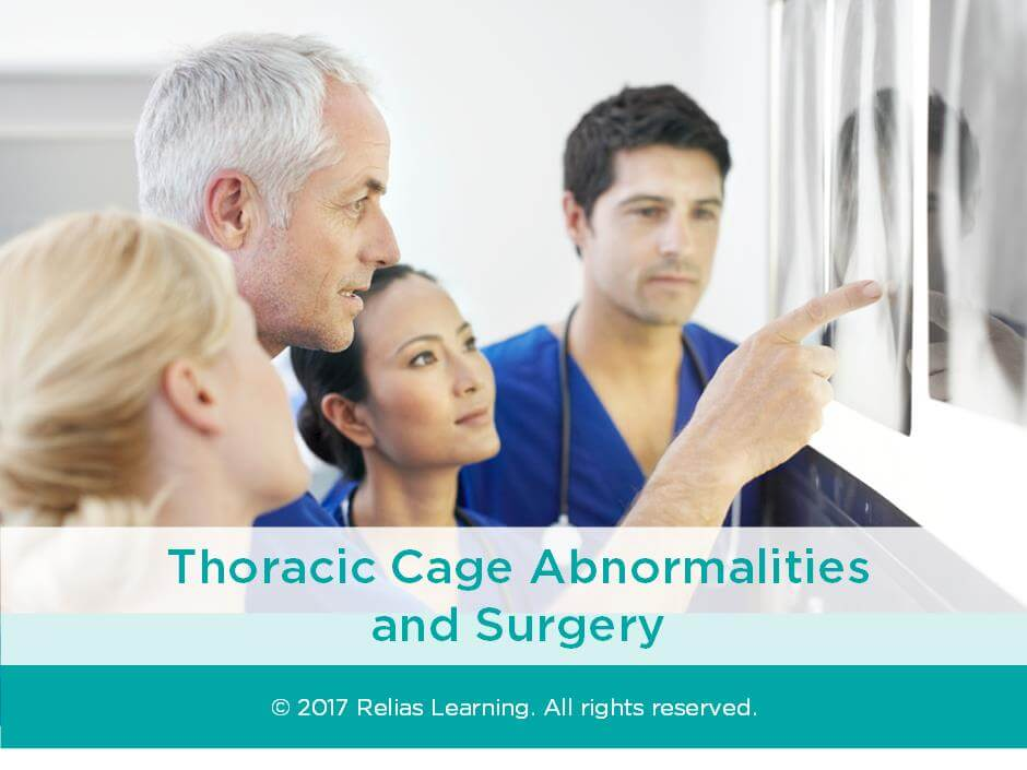 Thoracic Cage Abnormalities and Surgery