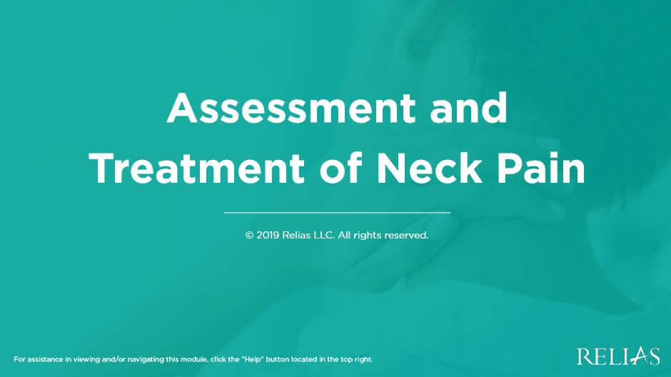 Assessment and Treatment of Neck Pain