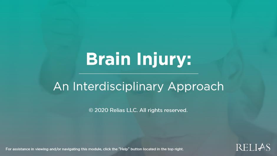 Brain Injury: An Interdisciplinary Approach