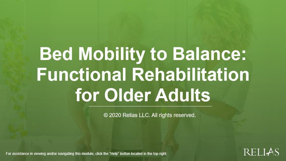 Functional Strength Training & The Frail Older Adult: Interventions