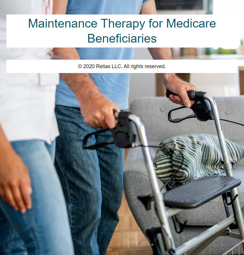 Maintenance Therapy for Medicare Beneficiaries