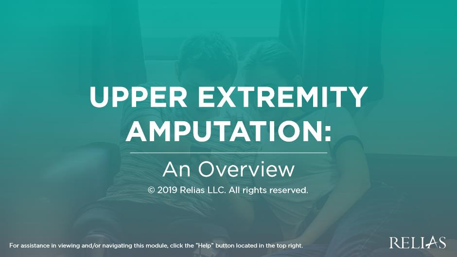Upper Extremity Amputation: An Overview