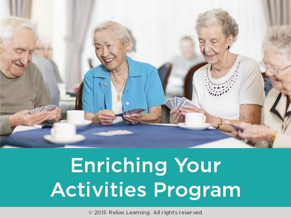 Enriching Your Activities Program