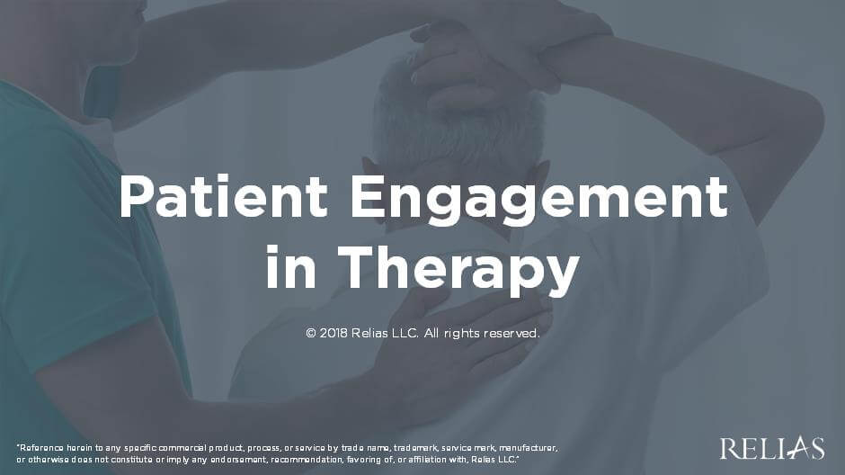 Patient Engagement in Therapy