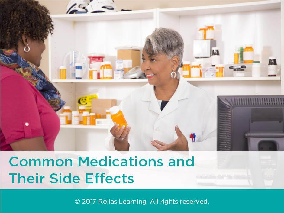Common Medications and Their Side Effects