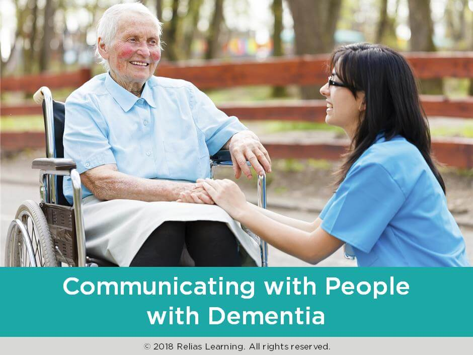 Communicating with People with Dementia