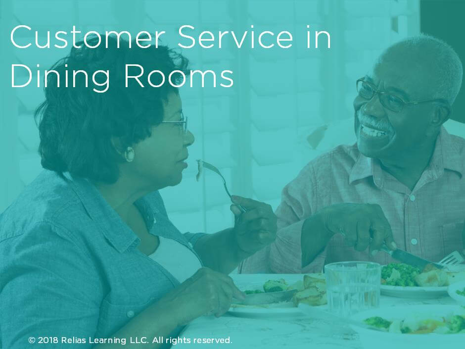Customer Service in Dining Rooms