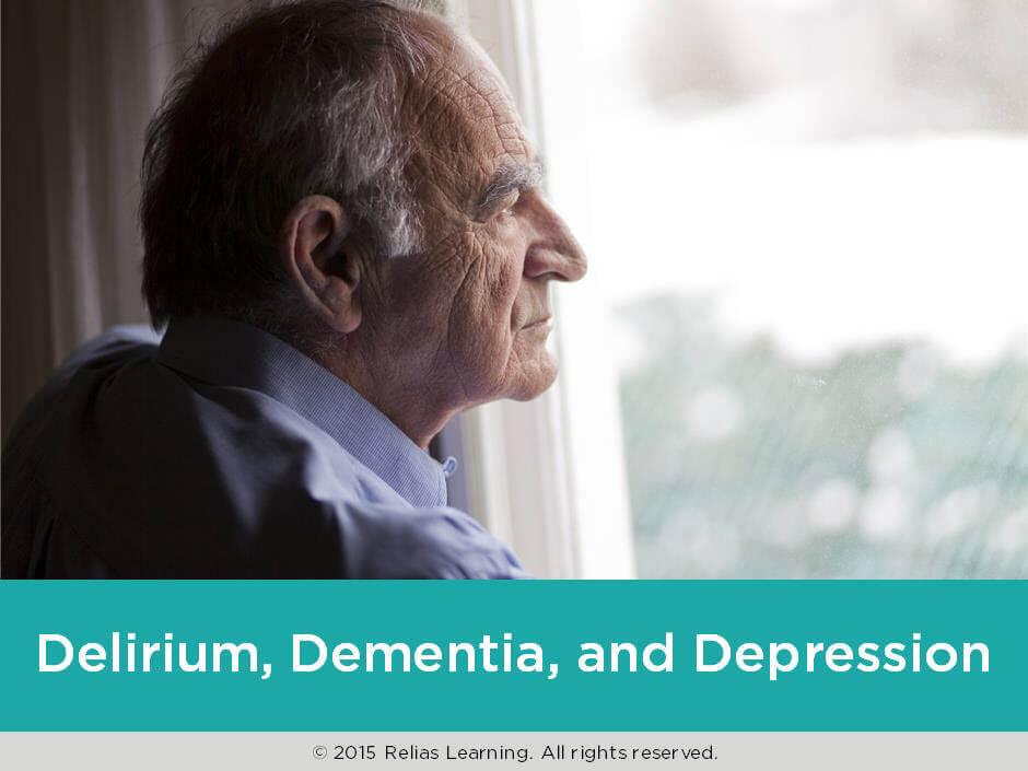 Delirium, Dementia, and Depression
