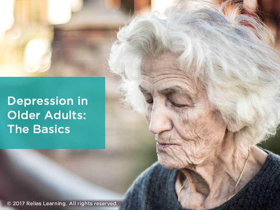 Depression in Older Adults: The Basics
