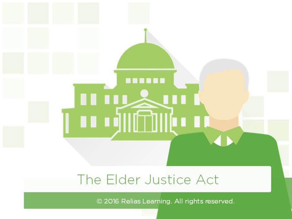 The Elder Justice Act