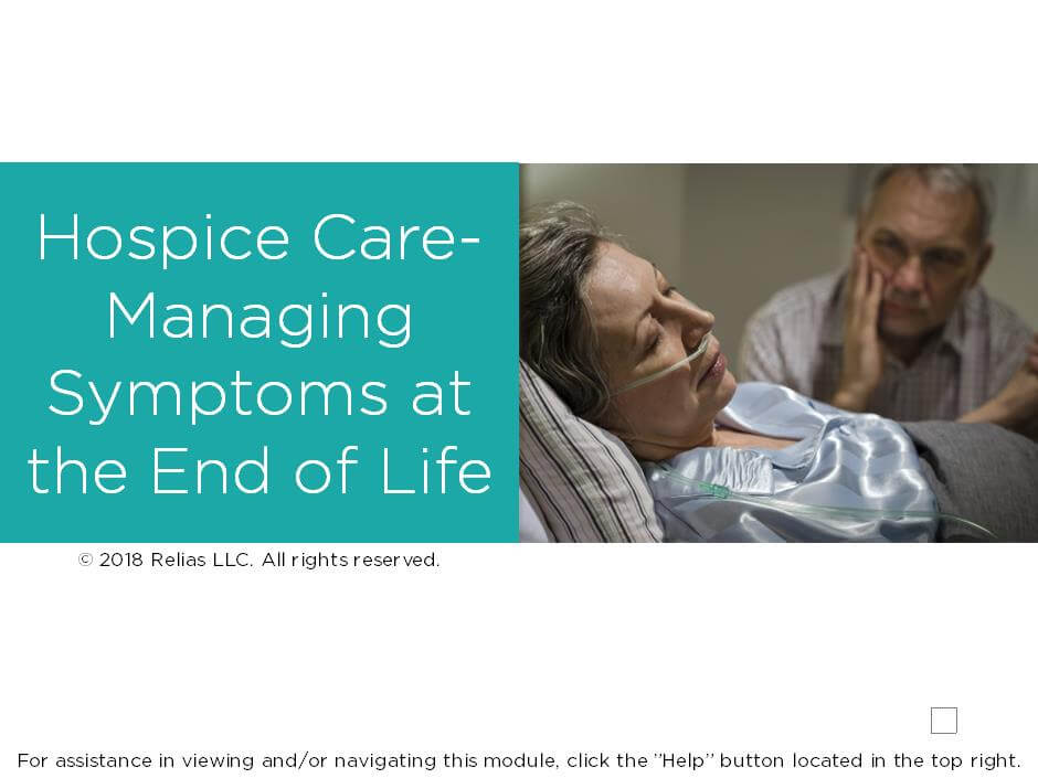 Hospice Care: Managing Symptoms at the End of Life