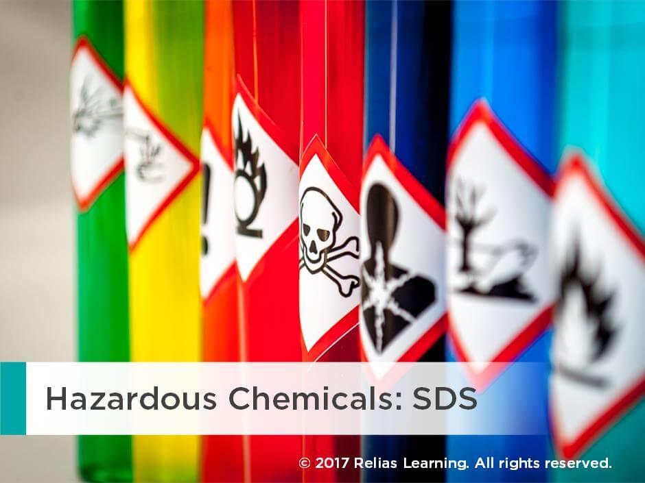 Hazardous Chemicals: SDS Self-Paced