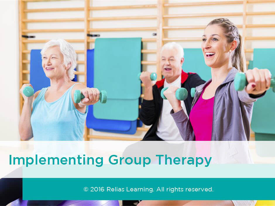 Implementing Group Therapy