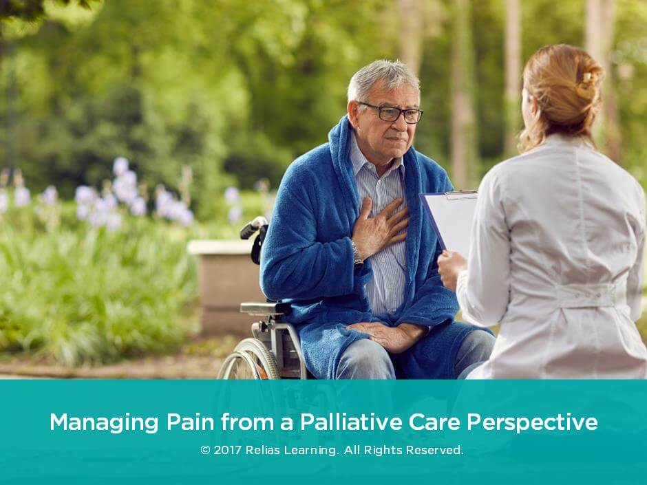 Managing Pain from a Palliative Care Perspective