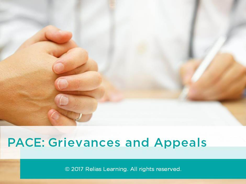 PACE: Grievances and Appeals