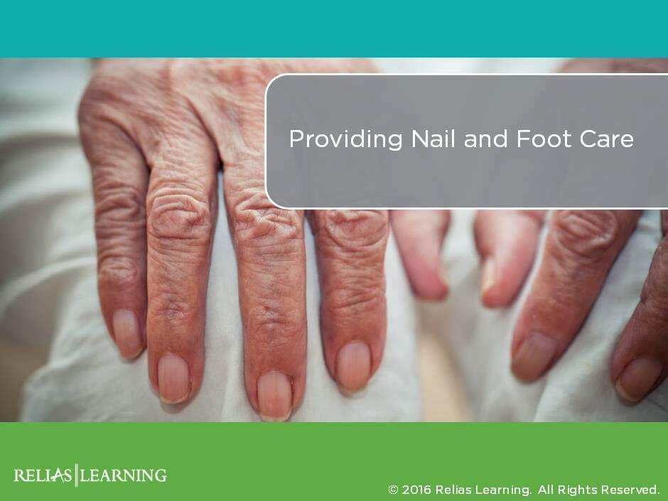 Providing Nail and Foot Care