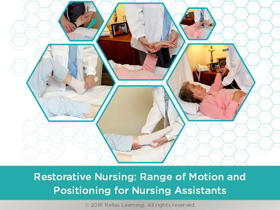 Restorative Nursing: Range of Motion and Positioning for Nursing Assistants