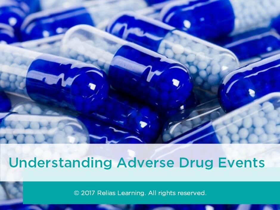 Understanding Adverse Drug Events