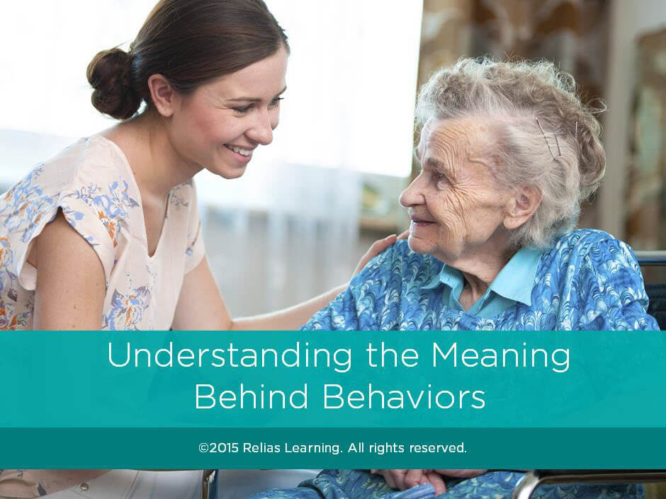 Understanding the Meaning Behind Behaviors