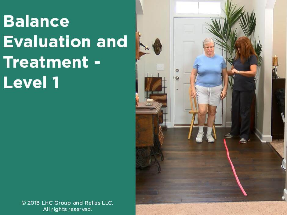 Balance Evaluation & Treatment - Level I
